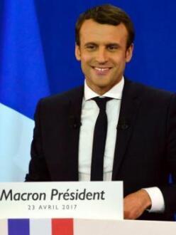 马克龙成法国近60年来最年轻总统
