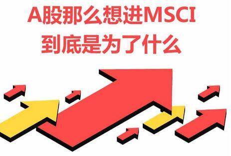 A股纳入MSCI