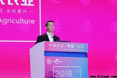 中国农产品流通经纪人协会会长于陪顺代外主理单位说话