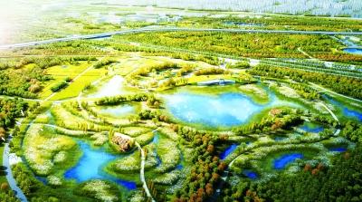 南苑森林湿地公园效果图