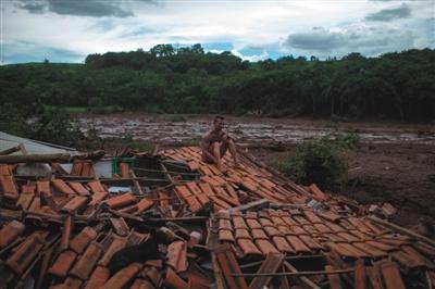 巴西矿坝决堤事故已致40人遇难