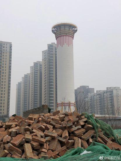世界第一的除霾塔,是个摆设?环保志愿者质疑:投资2100万打水漂