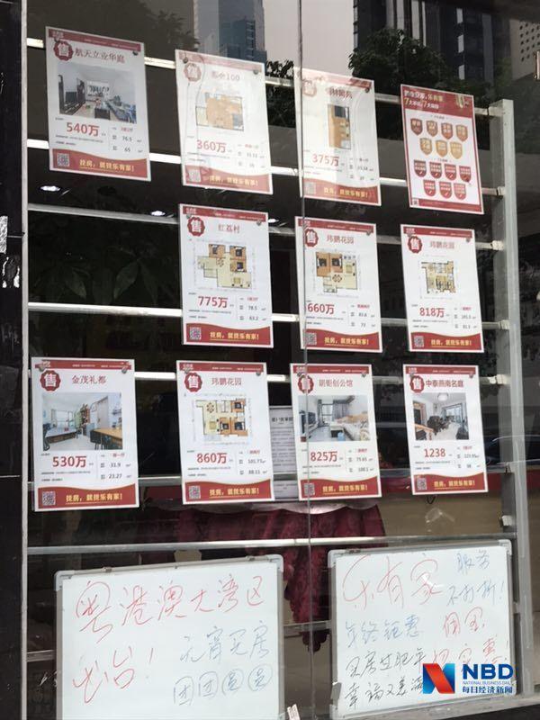 (中介门站的促销广告 图片