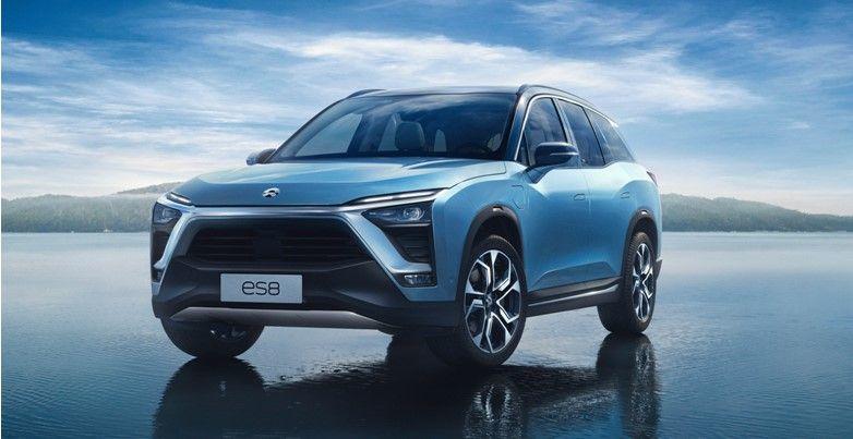 蔚来汽车发布于2017年,定位为高性能智能电动旗舰suv.
