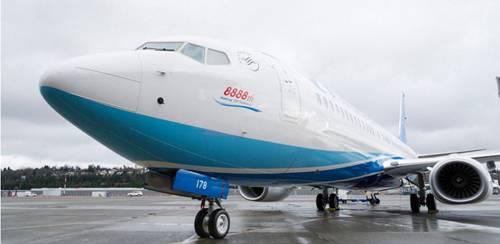 波音交付了出厂的第8888架737飞机,机型为737-800。(波音公司官网)