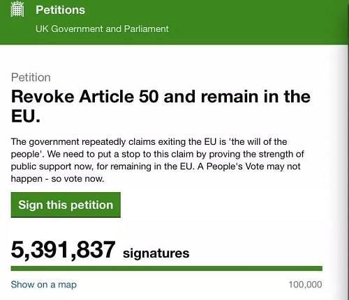 """""""政府说'脱欧'是民愿,我们希望通过这次公投证明,我们并不想走,想留在欧盟。"""" 图片来源:英国政府和议院官方网站"""