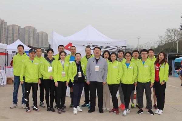 广发银行武汉分行助力2019武汉东湖绿道大学生樱花半程马拉松