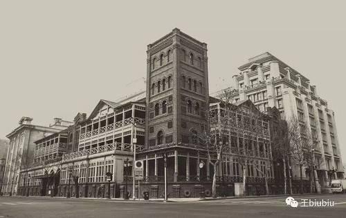 1863 年建成的天津利顺德饭店