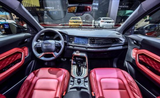 哈弗全新H6 300万纪念版上海车展亮相 搭载小度车载OS