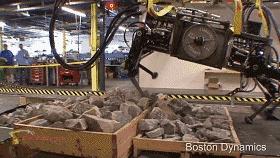 """波士顿动力版""""狗多力量大""""!10只机器狗拉动大卡车,SpotMini量产在即"""