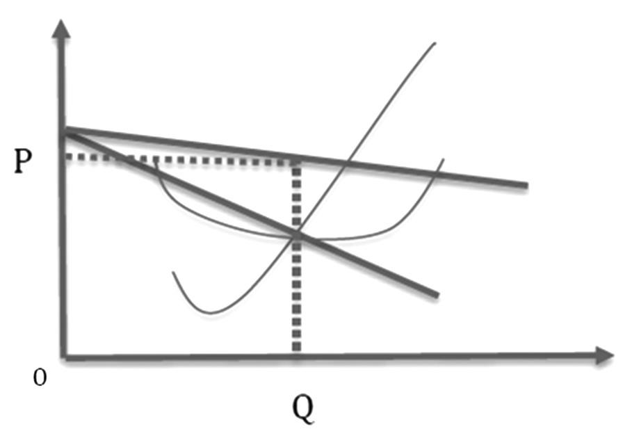 图为张伯伦模型