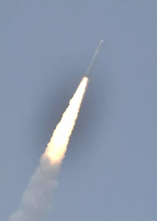 来了!海上航天发射现场视频