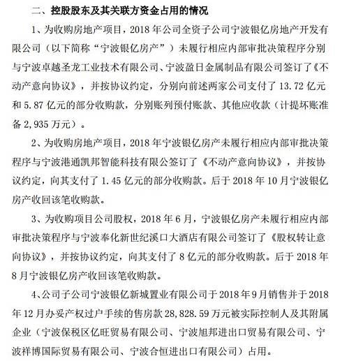 而对。于占用上市公司资金,在。6月10日的时候,上市公司收到甘肃证监局的监管措施决定书。