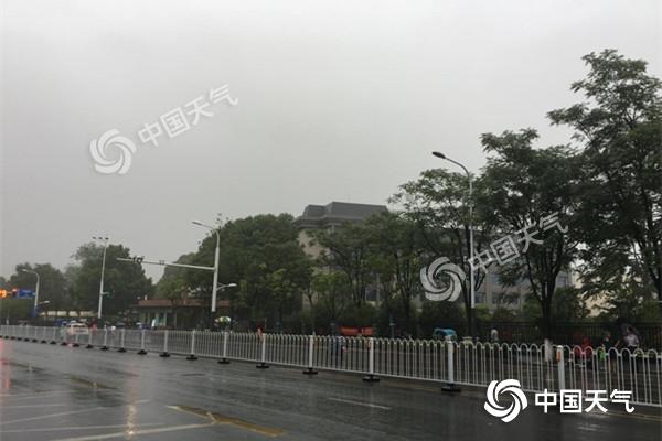 江苏迎入梅后第二场强降雨 南京雨量可达暴雨
