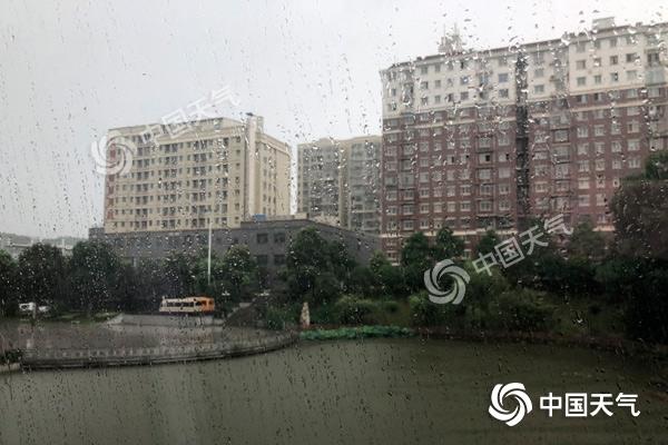 今起至10日强降雨袭击湖南 雷暴大风不可不防