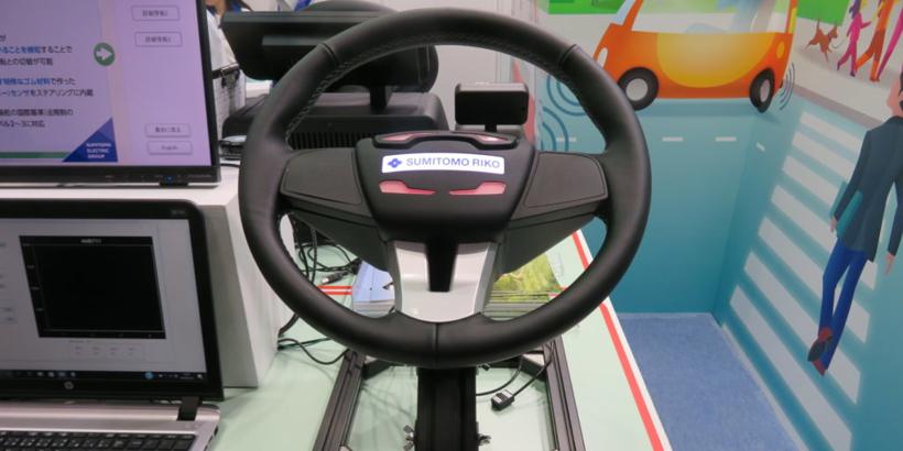 住友理工研发新传感器 识别自动驾驶车驾驶员是否紧握方向盘