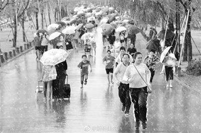"""年度大台风""""利奇马""""来袭 今天有8-10级大风 还有大到暴雨"""