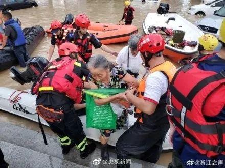 """撑住!28人遇难,20人失联!这座古城全城被淹,""""利奇马""""还将…"""