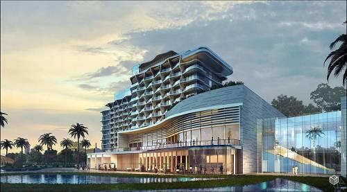 厦门湾效果图-泰禾酒店