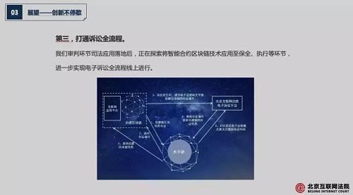 司法领域加速应用区块链技术