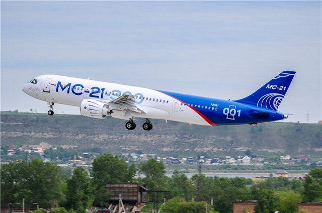 民航早报:俄罗斯MC-21飞机收获20架订单