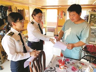 杭州交通港航部门服务不停歇 助力杭州航区水运复兴