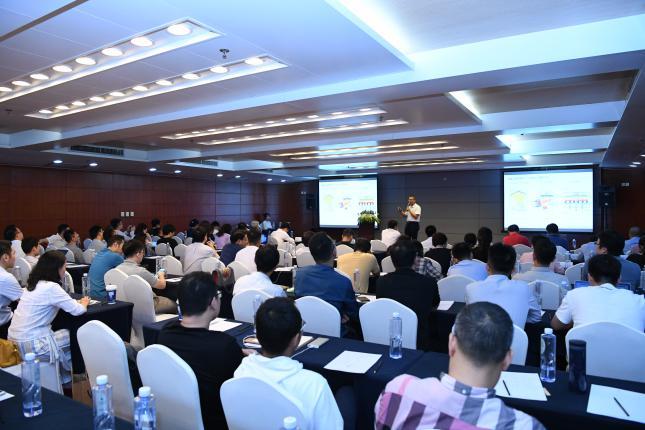 北极光电参展第21届中国光博会 总经理李京辉发外演讲