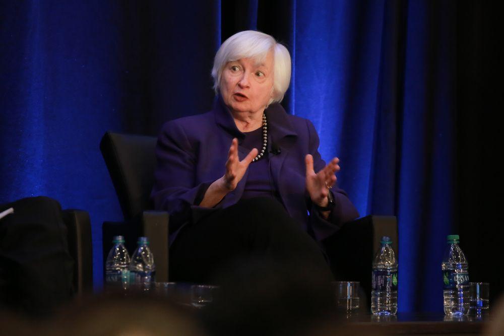 耶伦预计美联储将采取更多行动确保经济处于正轨