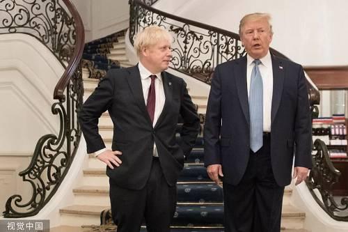 """美国搞""""双重标准"""",约翰逊很生气"""