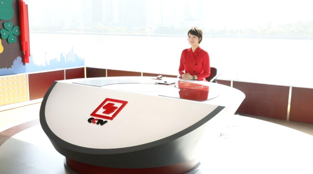 外滩中文国际频道演播室