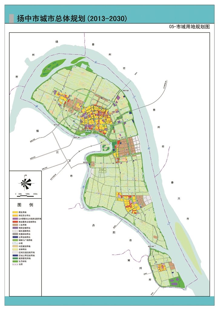 扬中三茅镇地图