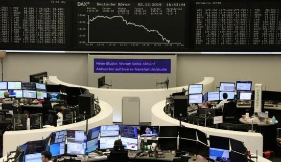 欧股创两个月来最大单日跌幅 并录得一个月收盘新低