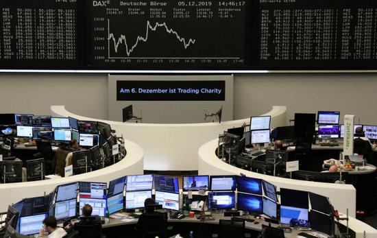 欧股小幅收低 嘉能可股价大跌9%至三年低点