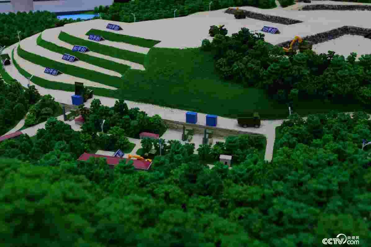 矿山开采治理复绿项目示范