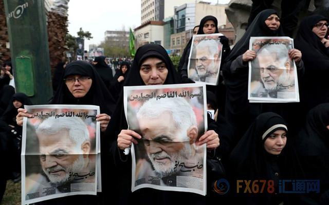 """伊朗磨刀霍霍,美国不改强势;黄金多头乐观""""中东大戏"""",但千万别忽略了牵制力量哦!"""