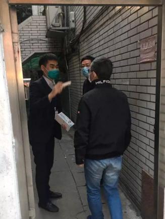 众志成城、共抗疫情   厦门国际银行党委书记严正深入福州分行考察防疫工作