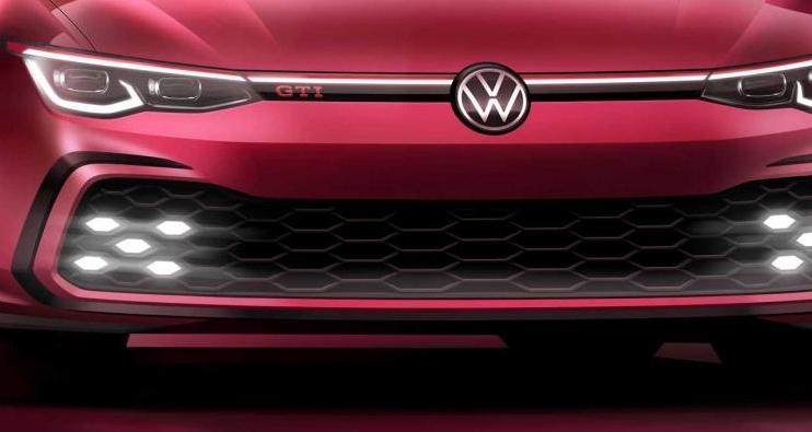 全新高尔夫GTI预告图 3月日内瓦车展亮相