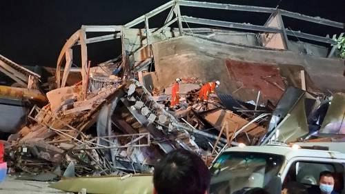 已致2人物化亡!泉州倒塌酒店2年内被走政责罚2次