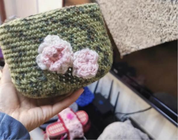 麻芳英编织的幼物件