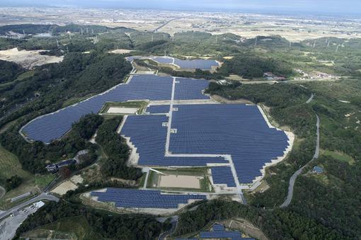 天合光能日本28兆瓦超高压光伏电站并网