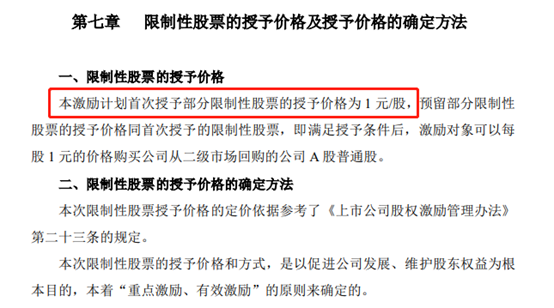 东方精工推出1元骨片激励计划深交所询问定价合理性