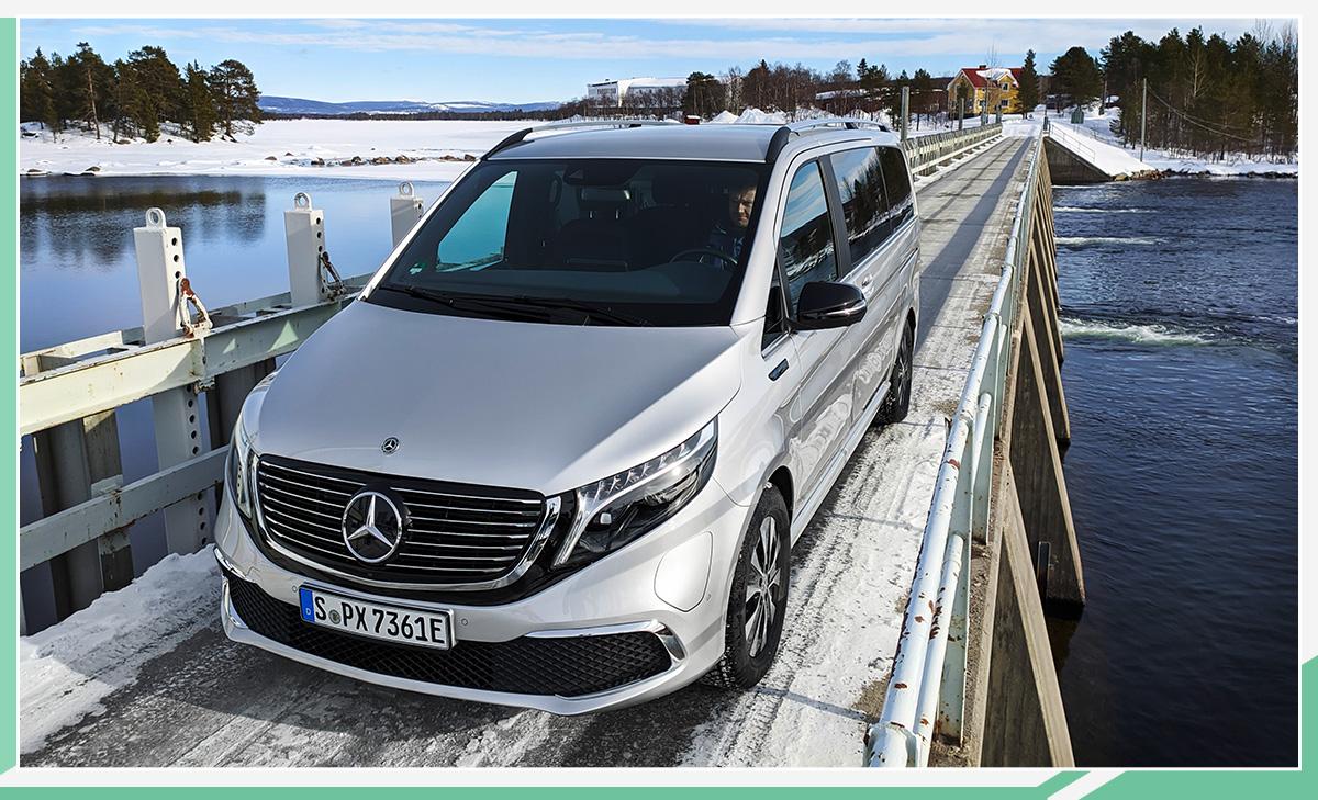 梅赛德斯-奔驰EQV完成冰雪测试 有望下半年上市