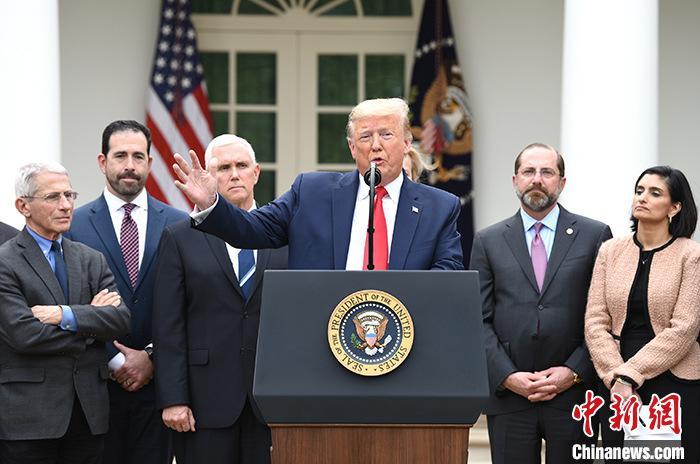 美国新冠肺炎确诊超86万人 特朗普签署第四轮经济刺激方案