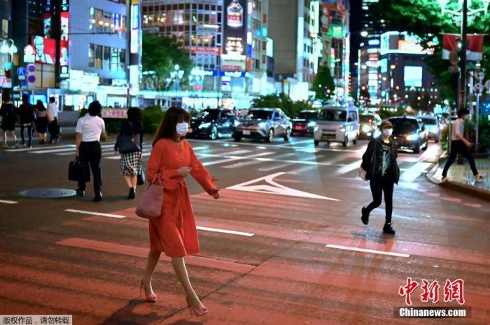 东京都新增病例连续两天超40例 夜间娱乐场现群聚感染