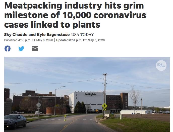 欧美肉类工厂相继暴发疫情,食品安全有保障吗?
