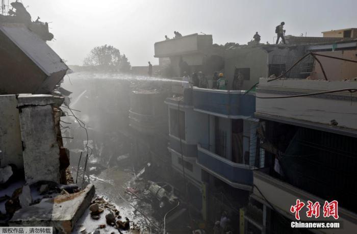 巴基斯坦坠机事故初步报告:飞行员因讨论疫情分心