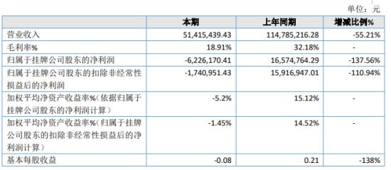 唐人科技2019年亏损622.62万 总资产较期初增长4.52%