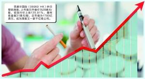 电子烟巨头登陆港股 思摩尔国际首日暴涨150%