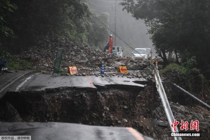 日本多地暴雨已致82人死亡 27县超1.6万栋房屋受损