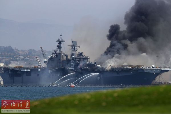 搜救行动历时40小时 美军两栖战车失踪水兵均被认定死亡